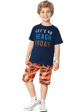 conjunto infantil masculino beach marinho marlan 44652 1