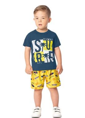 conjunto infantil masculino surf azul marlan 42467 1