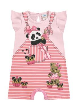 macaquinho bebe feminino ursinhos rosa marlan 40349 1