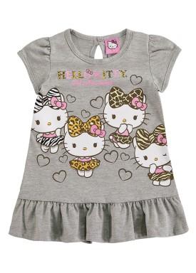 vestido bebe feminino hello kitty mescla marlan y4010