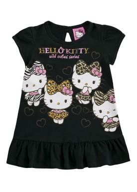 vestido bebe feminino hello kitty preto marlan y4010