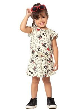 vestido infantil feminino diversao marfim marlan 42434 1