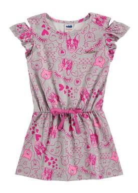 vestido infantil feminino diversao mescla marlan 42434