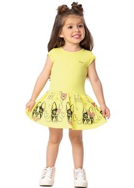 vestido infantil feminino dog amarelo marlan 42436 1