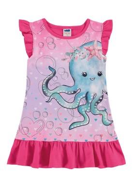 vestido infantil feminino polvo rosa marlan 42442