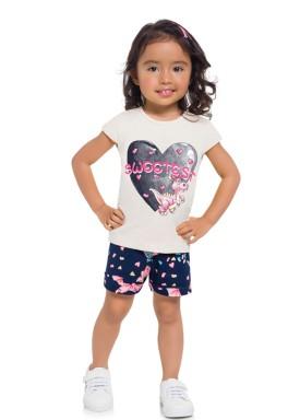 conjunto infantil feminino sweetest natural brandili 24519 1