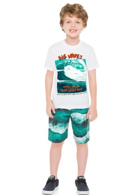 conjunto infantil masculino big waves branco brandili 24218 1