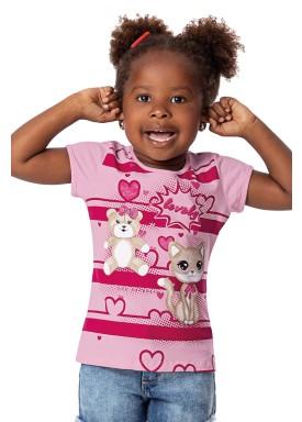 blusa infantil feminina lovely rosa alenice 44360 1