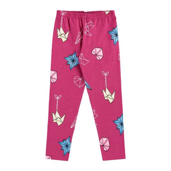 legging infantil feminina estampada pink alenice 44346
