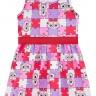 vestido infantil feminino quebra cabeca vermelho brandili 34189 2