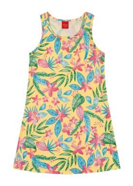 vestido infantil feminino nature amarelo elian 251349