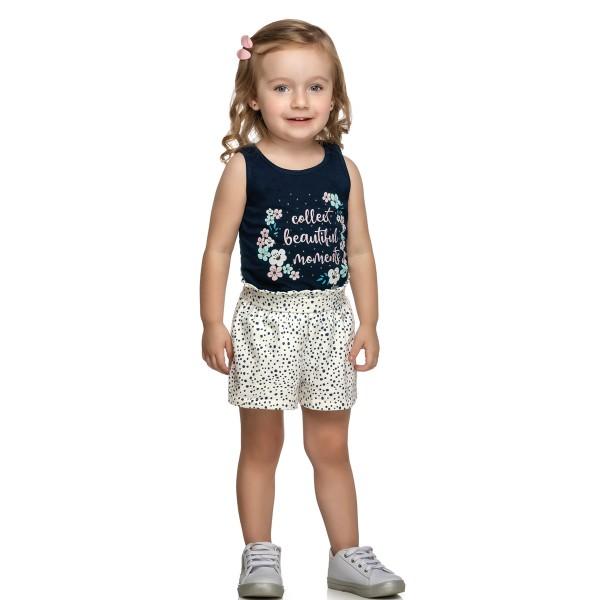 conjunto infantil feminino beautiful marinho elian 231396 1