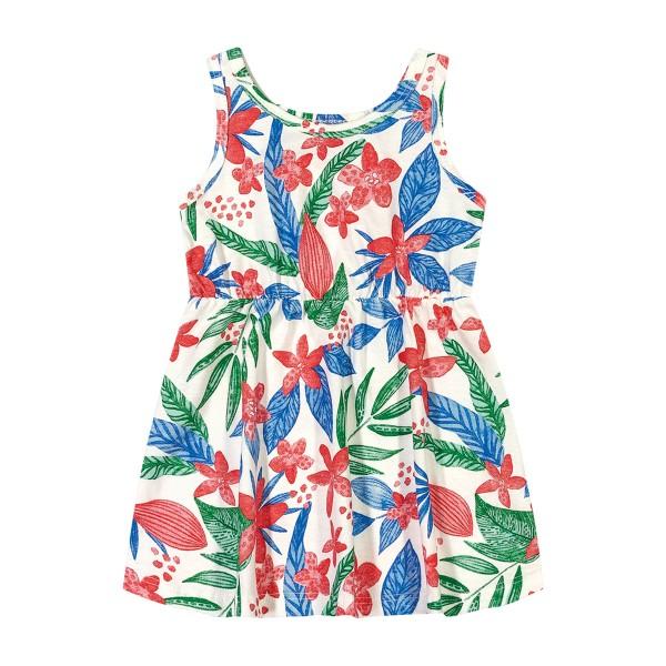 vestido bebe feminino floral natural elian 211074
