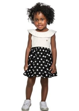 vestido infantil feminino coracoes natural elian 231439 1
