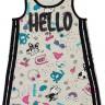 vestido infantil feminino hello mescla elian 231382 2