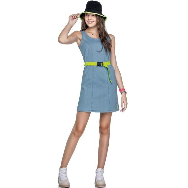 vestido jeans juvenil feminino azul elian beats 27999 1