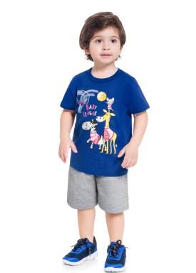 conjunto infantil masculino baby league azul brandili 34300 1