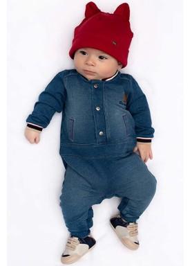 macacao longo bebe masculino moletom denim azul paraiso 10163 1