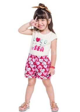 conjunto infantil feminino love sea natural brandili 34289 1
