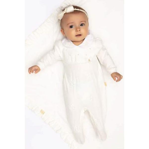 macacao longo bebe menina guipir offwhite paraiso 10146 1