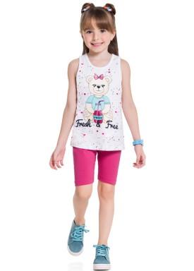 conjunto infantil feminino fresh free branco brandili 34360 1