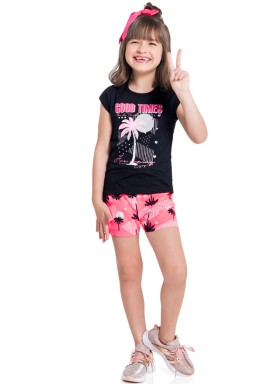 conjunto infantil feminino good times preto brandili 34296 1