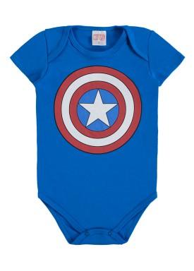 body bebe masculino capitao america azul marlan a6014 2