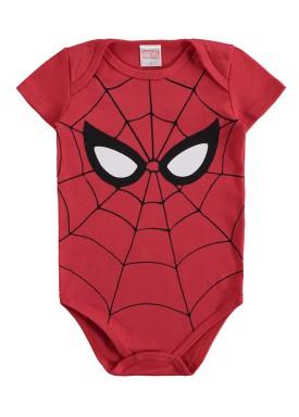 body bebe masculino homem aranha vermelho marlan a6014