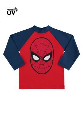 camiseta infantil masculina homem aranha vermelho marlan a6017 1