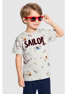 camiseta infantil masculina sailor mescla alakazoo 46841 1