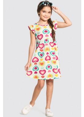vestido infantil feminino coracoes offwhite alakazoo 11357 1