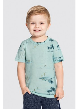 camiseta infantil masculina island verde alakazoo 46832 1