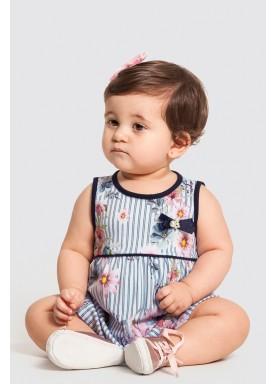 vestido bebe feminino flores branco alakazoo 47185 1