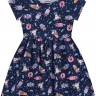 vestido infantil feminino unicorns marinho forfun 3120 3