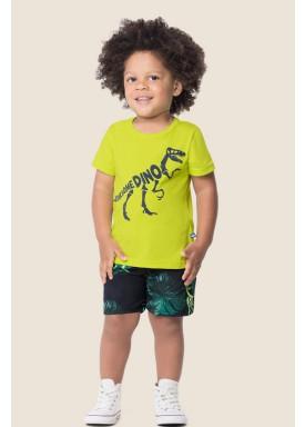 conjunto bebe masculino dino verde marlan 62514 1