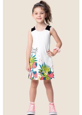 vestido infantil feminino summer branco marlan 64571 1