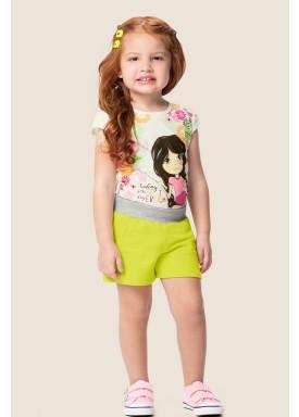 conjunto infantil feminino best day marfim marlan 62466 1