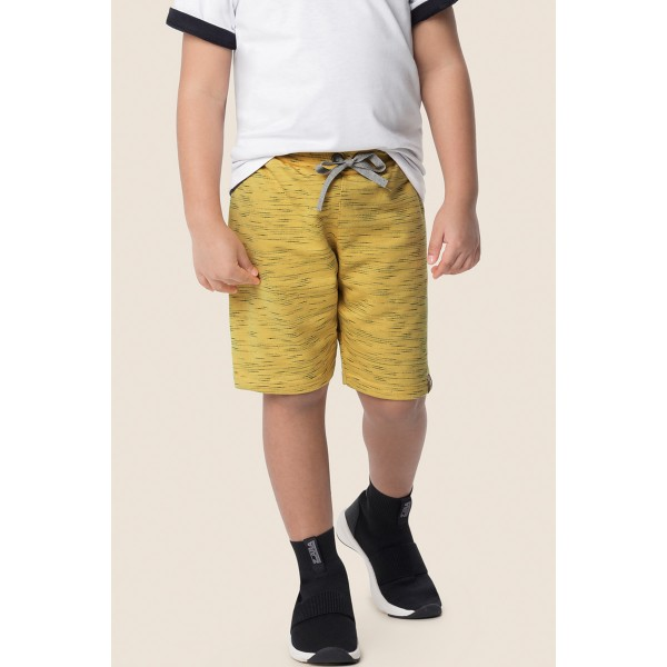 bermuda juvenil masculina amarelo marlan 64583 1