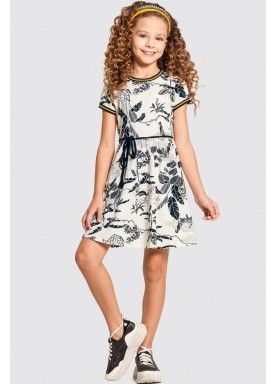 vestido infantil feminino leaves offwhite alakazoo 47277 1