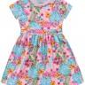 vestido infantil feminino hibiscus rosa fakini forfun 3121 3