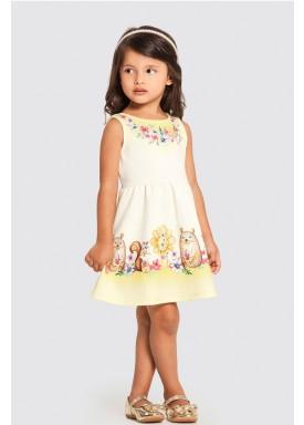 vestido infantil feminino friends offwhite 47210 1