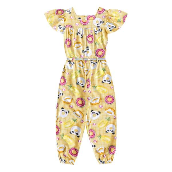 macacao infantil feminino pool amarelo fakini 3050