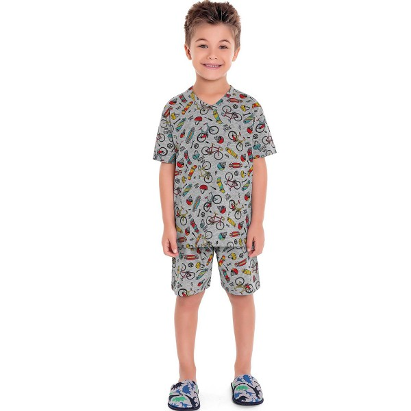 pijama curto infantil masculino radical mescla fakini 3282 1