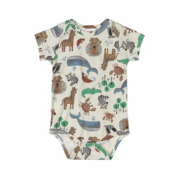 body bebe masculino animais bege upbaby 42949