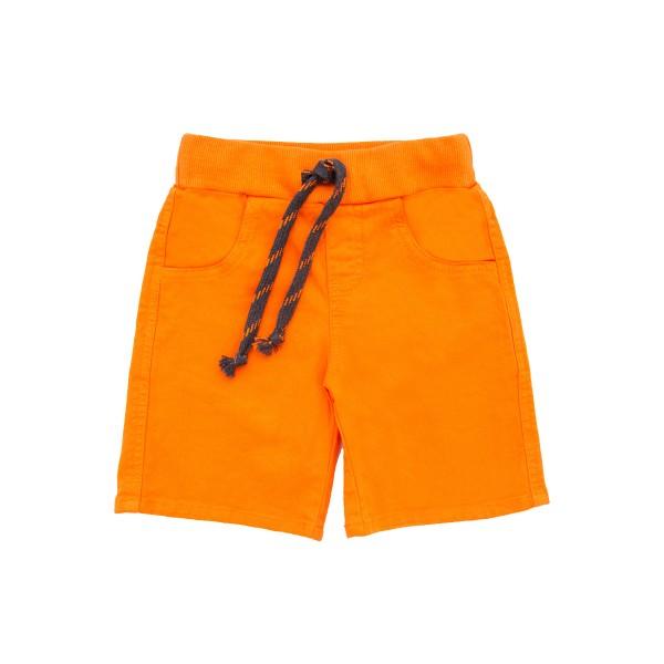 bermuda sarja infantil masculina laranja lbm bbs006 1