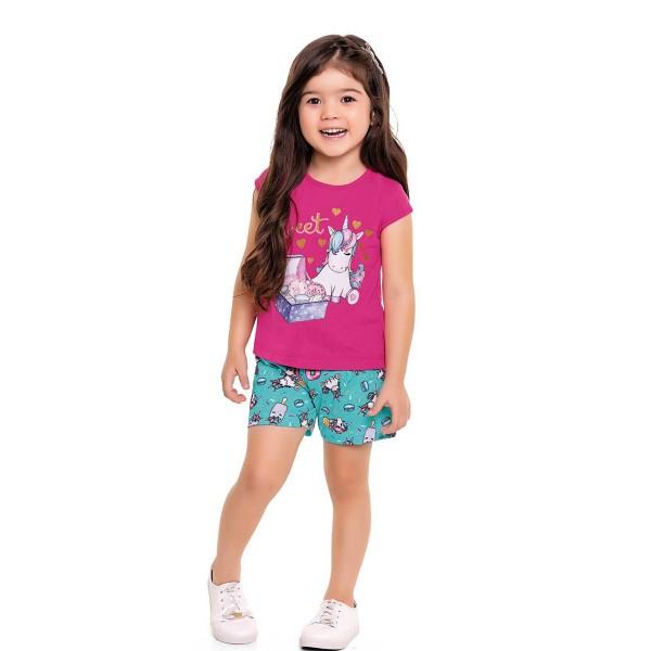 conjunto infantil feminino sweet pink fakini forfun 3113 1
