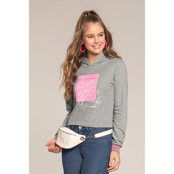 blusao moletom juvenil feminino love yourself mescla lunender hits 67583 1