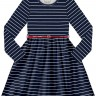 vestido infantil juvenil feminino listrado marinho alakazoo 67535 3