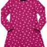 vestido manga longa infantil juvenil feminino flores violeta alakazoo 67534
