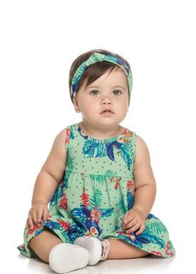 vestido bebe feminino nature verde elian 211080 1